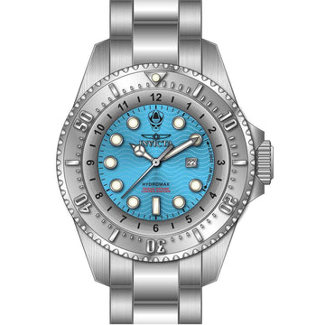Invicta Men's Quartz Watch - Hydromax Blue Dial Stainless Steel Bracelet | 30843
