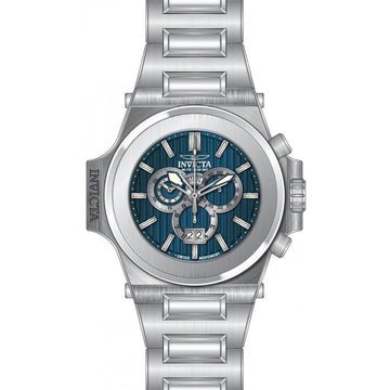 Invicta Men's Chrono Watch - Reserve Akula Blue Dial Stainless Steel Bracelet | 31671