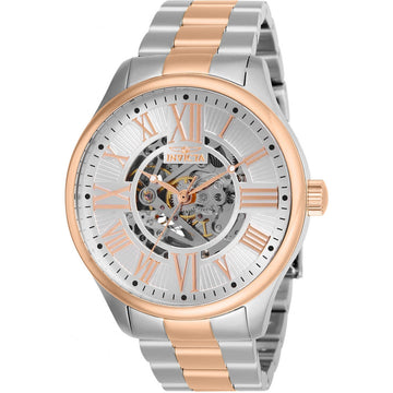Invicta Men's Automatic Watch - Objet D Art TT Silver and Rose Gold Tone Bracelet | 27558