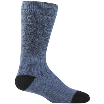 Farm to Feet Men's Socks - Denali Cold Weather Crew, Wooly Blue | 9748-416-WB