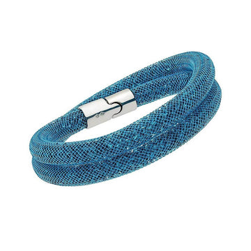 Swarovski Women's Bracelet - Stardust Double Blue Small | 5139744