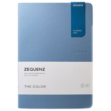 Zequenz Classic 360 Notebook - The Color A5, Dotted, Light Blue | 360-TCJ-A5-LITE-LBD