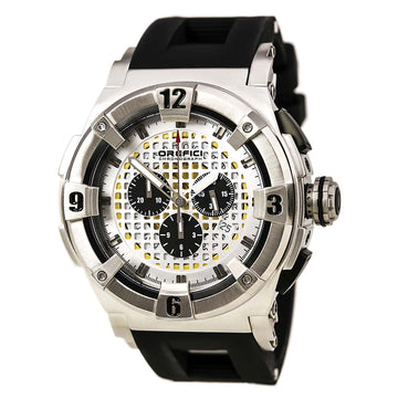 Orefici ORM14C4801 Men's Regata Evolution Black Strap Chronograph