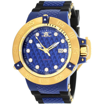 Invicta Men's Automatic Watch - Subaqua Noma III Blue Dial Strap | 31721