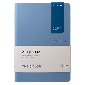 Zequenz Classic 360 Notebook - The Color B6, Ruled, Light Blue | 360-TCJ-B6-LITE-LBR