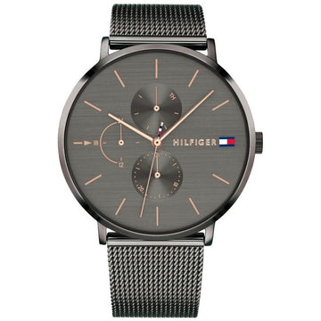 Tommy Hilfiger Women's Quartz Watch - Jenna Grey Dial Mesh Bracelet | 1781945