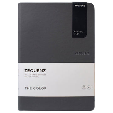 Zequenz Classic 360 Notebook - The Color A5, Ruled, Storm | 360-TCJ-A5-LITE-STR