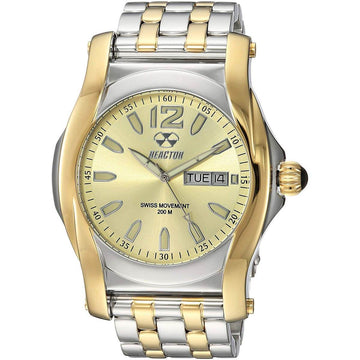 Reactor Men's Quartz Watch - Curie Champagne Dial Stainless Steel Bracelet | 98128