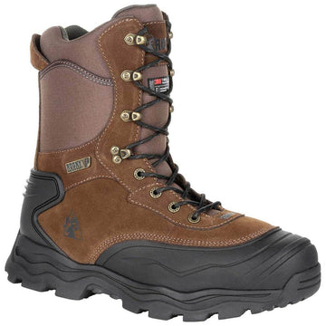 Rocky Men's Outdoor Boot - Multi-Trax 800G Insulated Brown Size 8W | RKS0417-080-W