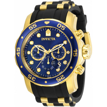 Invicta Men's Chronograph Watch - Pro Diver Blue Dial Two Tone Strap | 30763