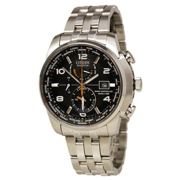 Citizen Men's World Time A-T Watch - Radio Controlled Stainless Steel | AT9010-52E