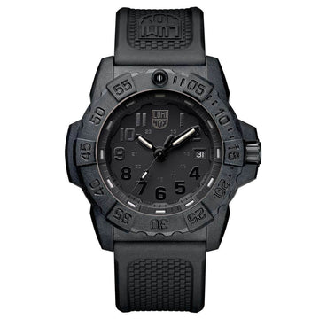 Luminox 3501.BO Navy Seal 3500 Men's Black Strap Swiss Watch