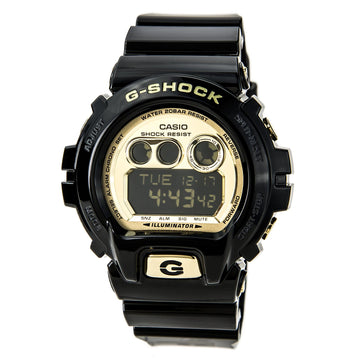 Casio Men's Digital Alarm Watch - G-Shock Dive Quartz Black Resin Strap | GDX6900FB-1