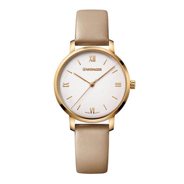 Wenger Women's Leather Strap Watch - Metropolitan Donnissima Quartz | 01.1731.105