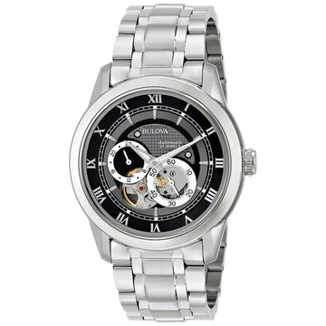 Bulova 96A119 Men's SS Dual Aperture Dial Automatic 30M WR Watch