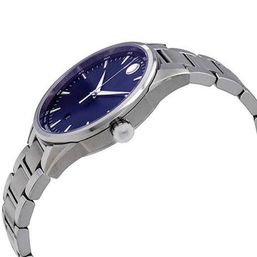 Movado Men's Quartz Watch - Stratus Blue Dial Stainless Steel Bracelet | 0607244