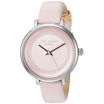 Ted Baker Women's Quartz Watch - Isla Pink Dial Leather Strap | 10031533