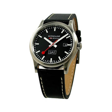Mondaine Men's Official Swiss Railways Sport Day Watch| A667.30308.19SBB