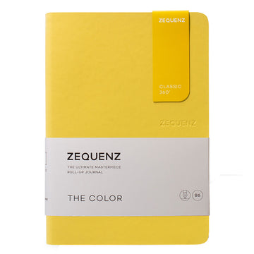 Zequenz Classic 360 Notebook - The Color B6, Dotted, Mustard | 360-TCJ-B6-LITE-MTD