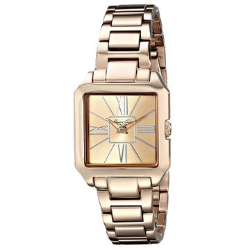 Kenneth Cole KC4983 Women's New York Rose Gold Dial Rose Gold Steel Bracelet Watch