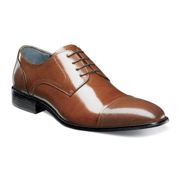 Stacy Adams 25149-221 Men's Jemison Cognac Oxford
