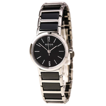 Bering 30226-742 Women's Ceramic Quartz Steel & Black Ceramic Bracelet Watch