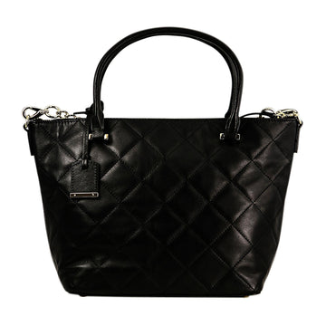 Kate Spade PXRU6240-001 Emerson Place Small Gina Adjustable Strap Black Leather Women's Tote