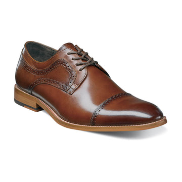 Stacy Adams 25066-221 Men's Dickinson Cognac Oxford