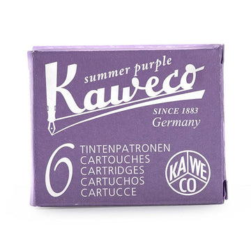 Kaweco Fountain Pen Ink Cartridges - 6 Pieces Glowing Yellow | 10001220
