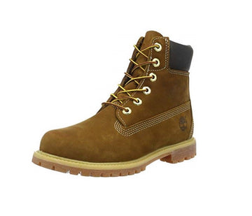 Timberland C10360 Women s Classic Premium Rust Nubuck Leather Lace Up  Waterproof Boots 4f22f10e9