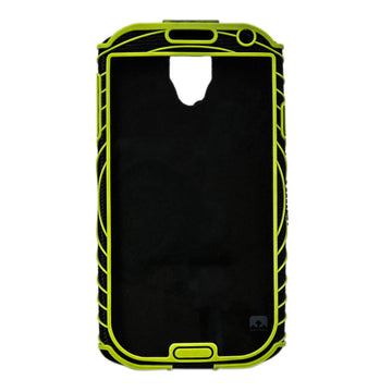 Nathan 4925NBE Sonic Boom Armband for Samsung Galaxy S4 - Black Lime