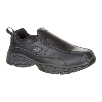 Dickies Women's Work Shoes - Slip Resisting Black Athletic Slip-On | SR3015