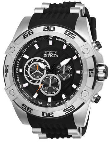 Invicta Men's Chronograph Watch - Speedway Black Dial Quartz | 25505