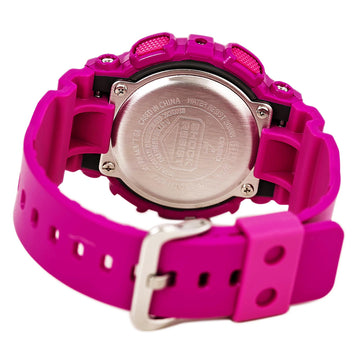 Casio GMAS110MP-4A3 Women's G-Shock Alarm Pink Resin Strap Ana-Digi Pink Dial Quartz Dive Watch