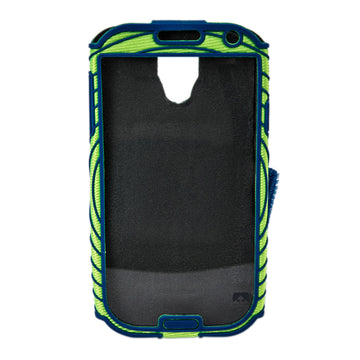 Nathan 4925NEB Sonic Boom Armband for Samsung Galaxy S4 - Green Blue