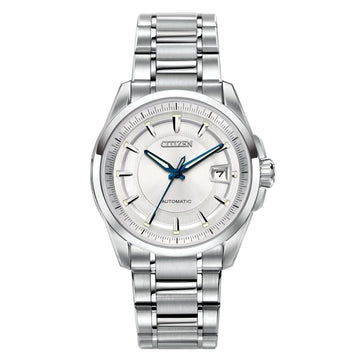 Citizen Men's Automatic Watch - Signature Grand Classic Silver Dial | NB0040-58A