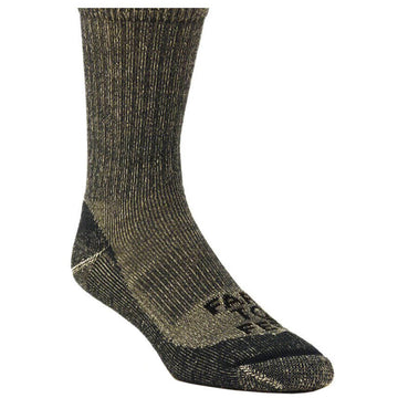 Farm To Feet Socks - Boulder Green Gables Lightweight Hiking Crew | 8540-302-GG