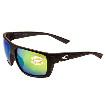 131642aa71 Costa Del Mar HL11OGMP Men s Hamlin X-Large Polarized Plastic 580P Green  Mirror Lens Matte