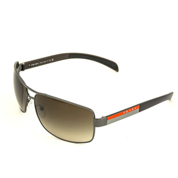 Prada PS54IS 5AV6S1 65 Linea Rossa Brown Lens Men's Sunglass