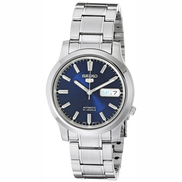 Seiko SNK793 Men's Seiko 5 Automatic Blue Dial Stainless Steel Bracelet Watch