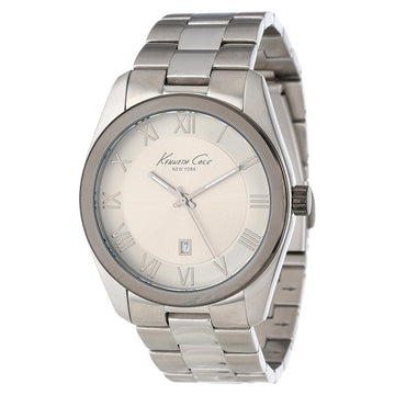 Kenneth Cole KC9223 Men's Classic Grey Dial Stainless Steel Bracelet Watch