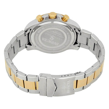 Invicta 20340 Men's Speedway Two Tone Steel Gold Dial Watch