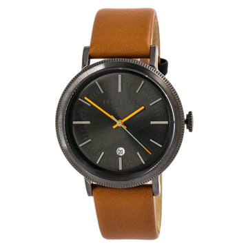 Ted Baker 10031504 Connor Men's Brown Strap Grey Dial Watch