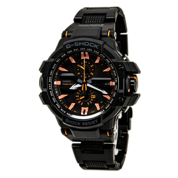 Casio GWA1000FC-1A4 Men's G-Shock Solar Powered Black Resin Strap Alarm Black Dial Dive Watch