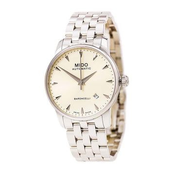 Mido M86004141 Men's Baroncelli II Stainless Steel Bracelet Automatic