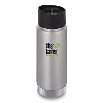 Klean Kanteen Bottle - Wide Mouth with Café Cap 2.0, 16oz