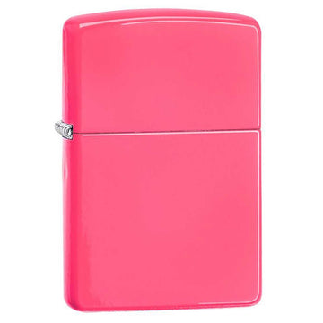 Zippo Windproof Pocket Lighter - Classic Neon Pink | 28886