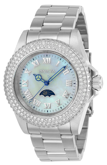 Invicta Women's MOP Dial Stainless Steel Watch - Sea Base Quartz Crystal | 23829