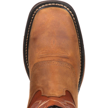 Rocky Men's Boot - Tan and Ochre Leather | RKYW039