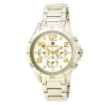 Tommy Hilfiger 1781526 Women's Alex Sport White Dial Stainless Steel